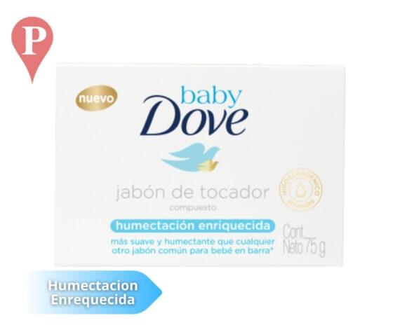Jabon tocador Dove Baby Humectacion
