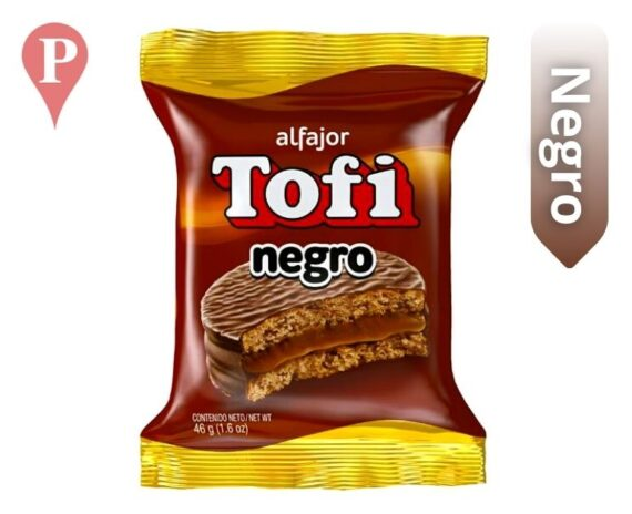 Alfajor Tofi Simple Negro